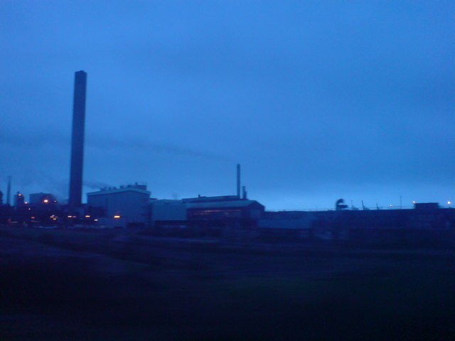 Steelworks at Margam