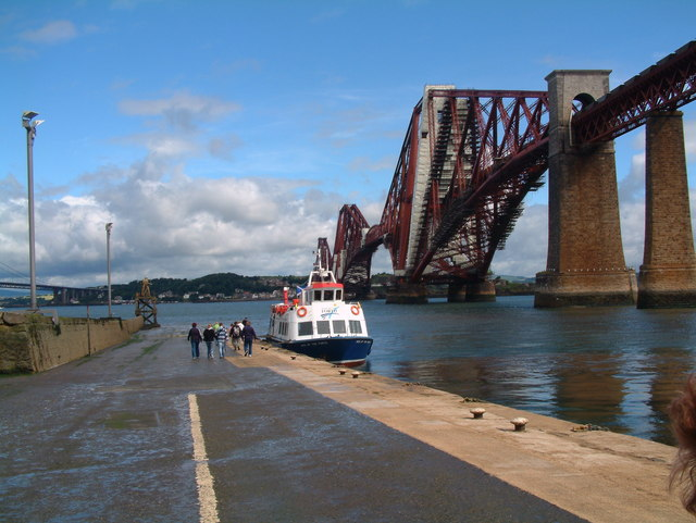 Boat Pier, South Queensferry