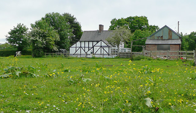 Old cottage near Burland, Cheshire