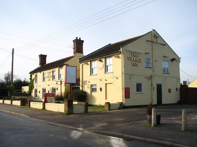 The Village Inn public house in School Lane