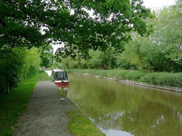 Llangollen Canal near Burland, Cheshire