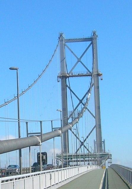 Cycle Path, Forth Road Bridge