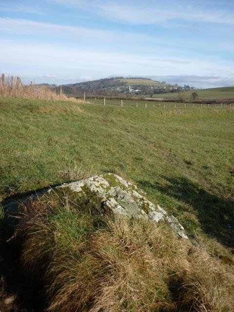 Erratic boulder, Fishcarling Head