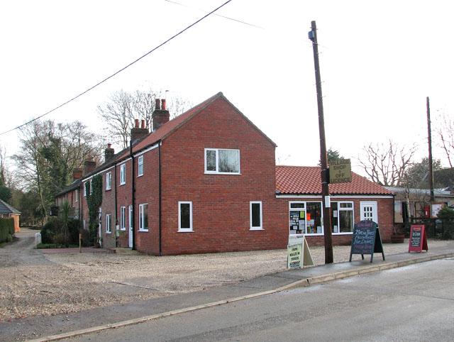 The village shop in Little Melton