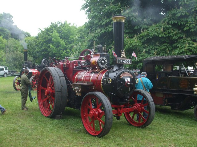 John Allen (of Oxford) traction engine