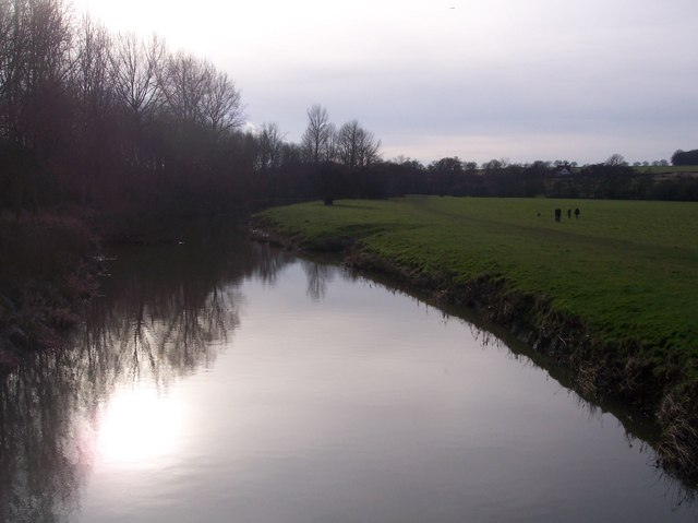 River Medway from Ensfield Bridge