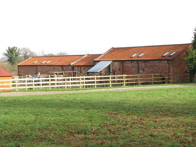 Barn conversions at Manor Farm