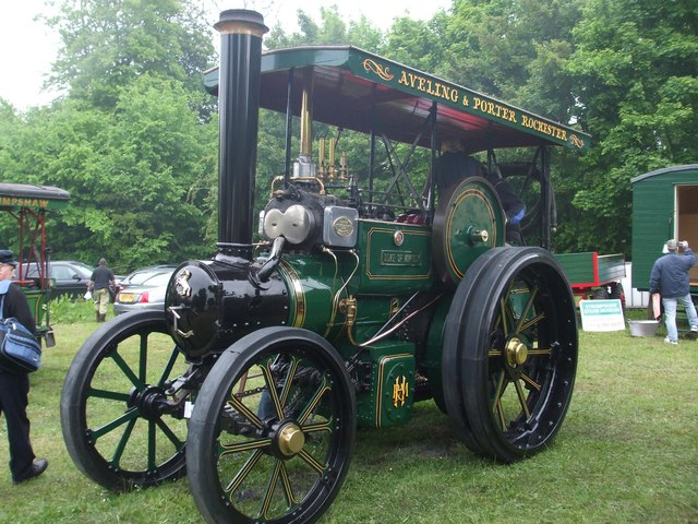 Aveling and Porter steam engine