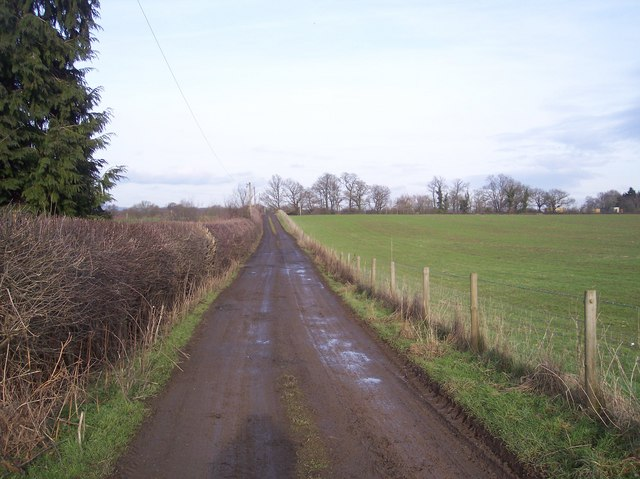 Access road  from Tapners  to Ensfield Road