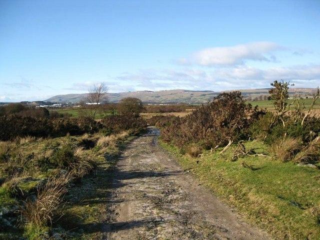 Track to Righead Farm