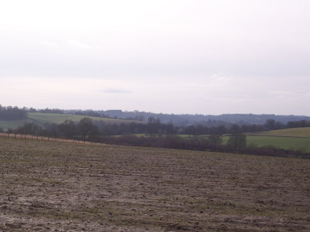 View from the Ashour Farm / Tapners bridleway