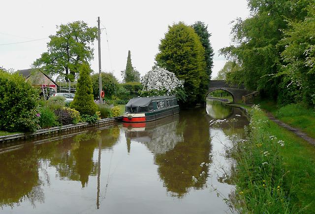 Llangollen Canal by Swanley Bridge, Cheshire