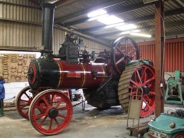 Buller the traction engine