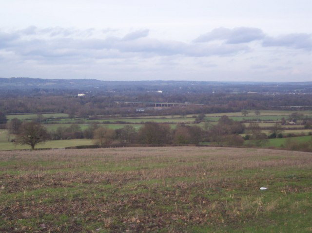 View from Haysden Lane