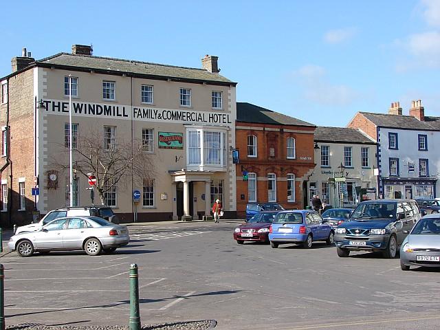 Windmill Hotel, Alford
