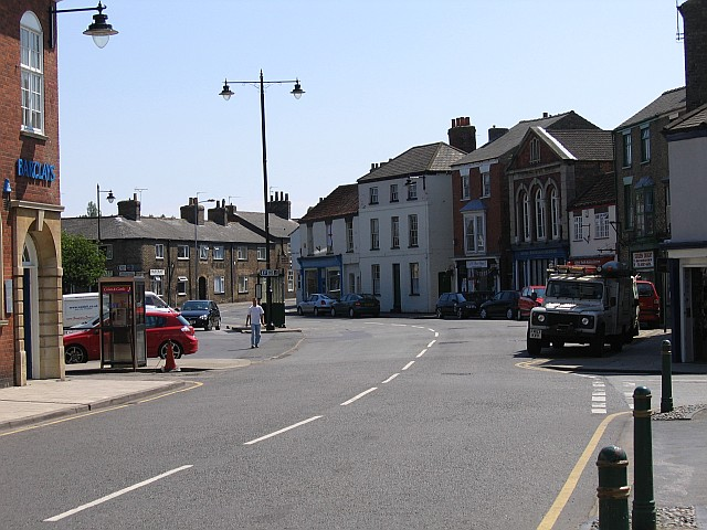South Market Place, Alford