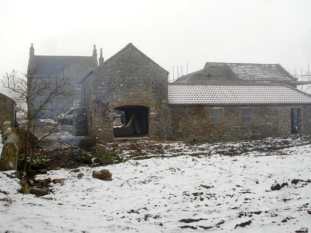 Newsham Lodge over Nor Beck