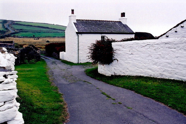 Cregneash Village - Lane to The Weaver's House,