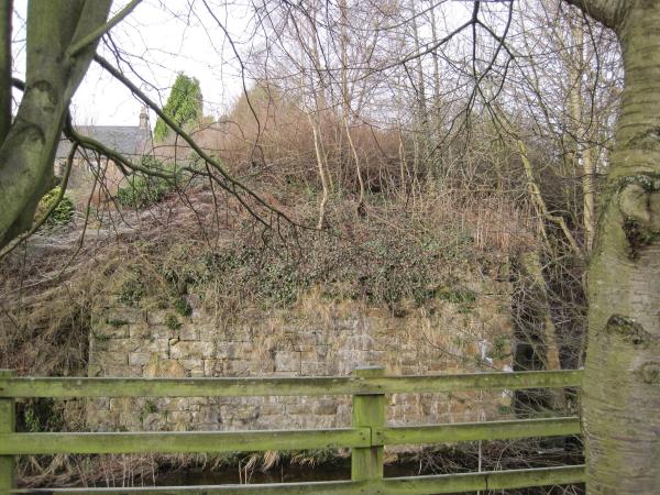 Demolished Railway Bridge for the Border Counties Railway