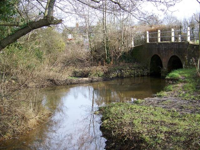 Sherford River, Organford