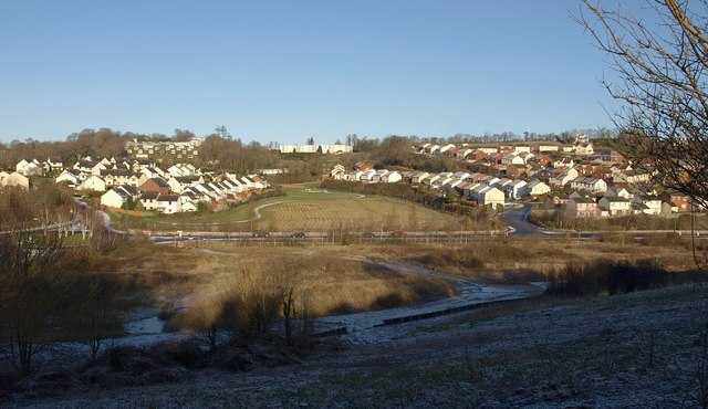 Barton New Town from the southeast