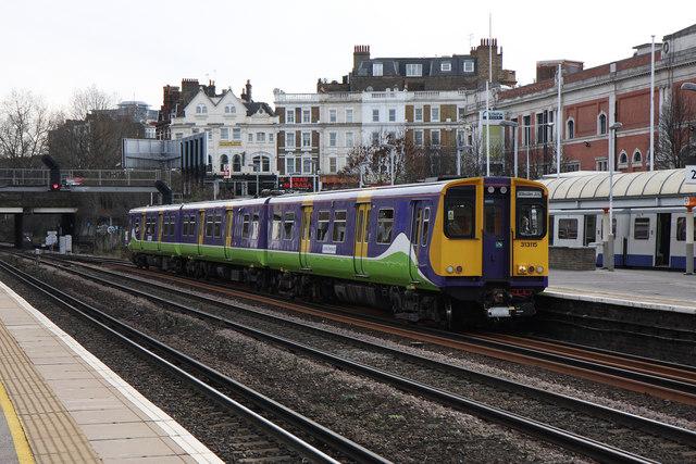 Clapham Junction To Willesden Junction