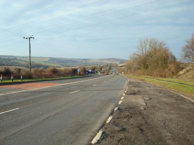 Gorse Hill (A20), near West Kingsdown