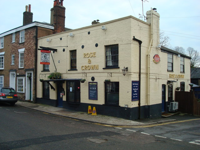 Rose & Crown, High Street, Wrotham