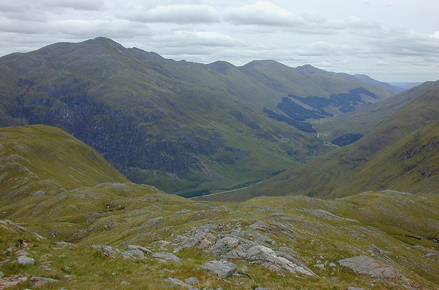 View up Glen Shiel
