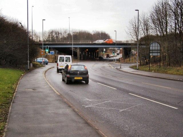 Pilsworth Road/M66 Junction 3