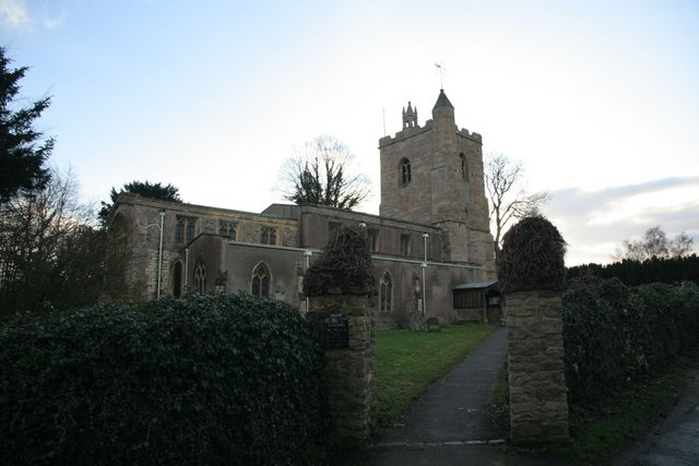 St Andrew's through the gate