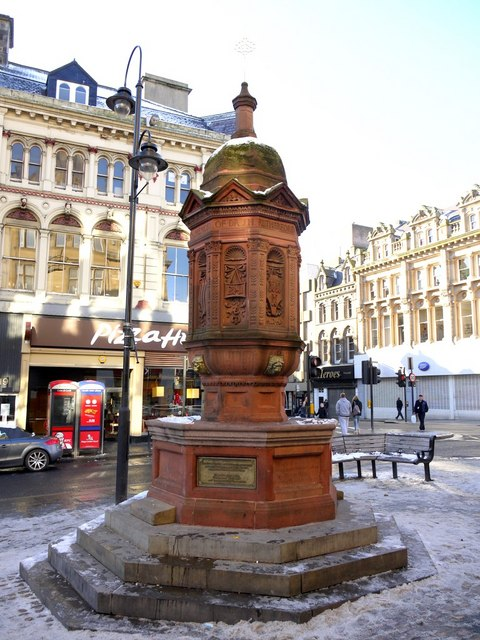 Rutherford Memorial Fountain, Bigg Market