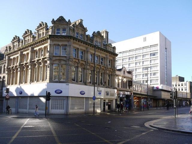 Corner of Newgate Street and Grainger Street