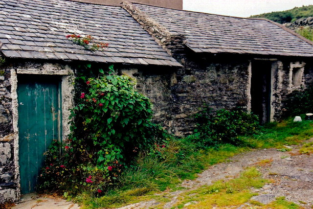 Cregneash Village - Two sheds along Cregneash Rd