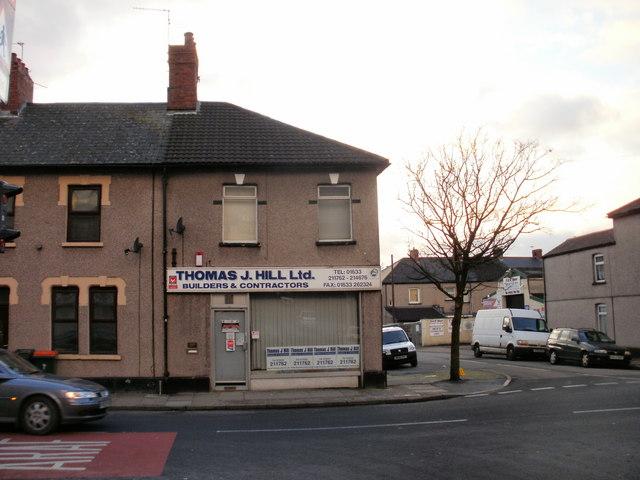 Thomas J.Hill Ltd, Duckpool Road, Newport