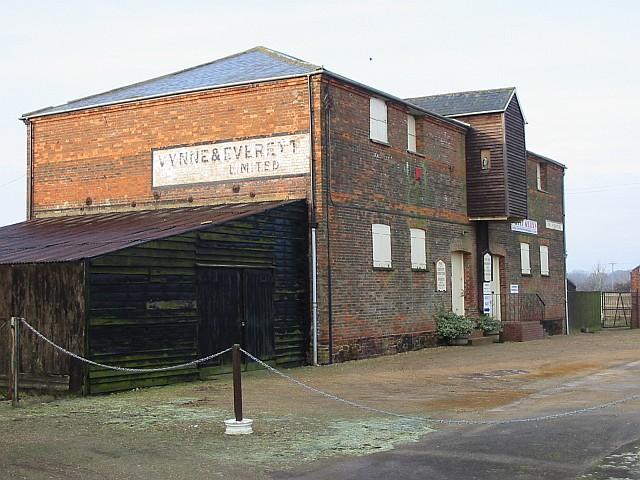 Warehouse near Snettisham station