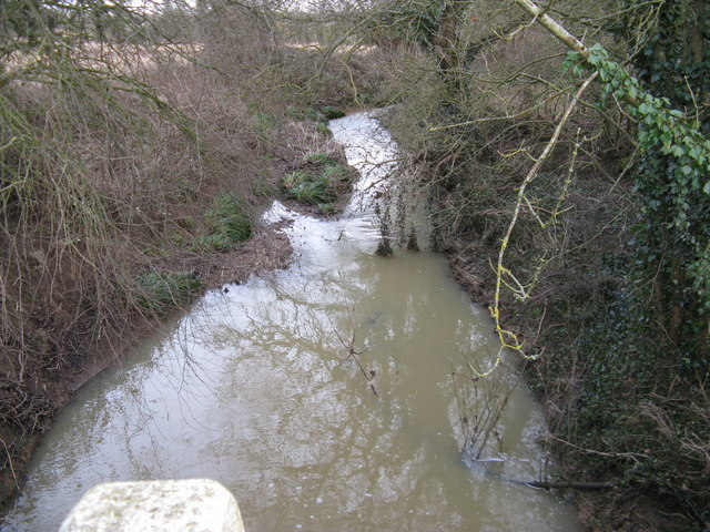 River Adur under Slaughterbridge