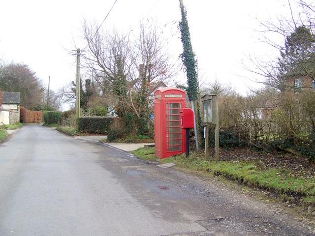 Telephone box, Winterborne Anderson