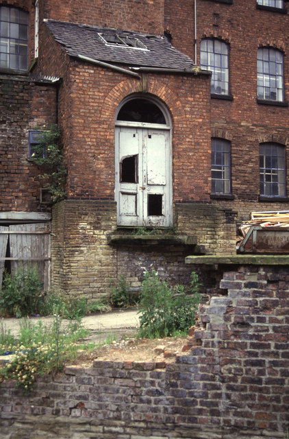 Engine house, London Road Mill, Macclesfield