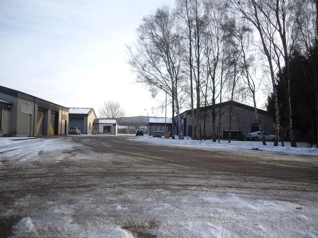 Aboyne Industrial Estate