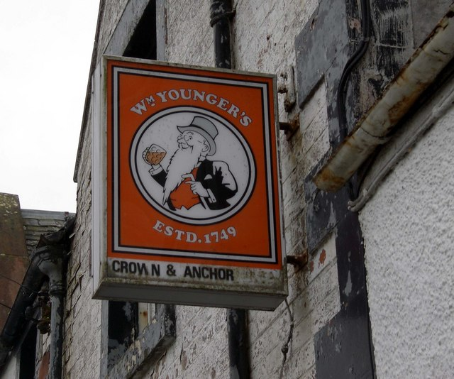 Crown and Anchor Inn Sign