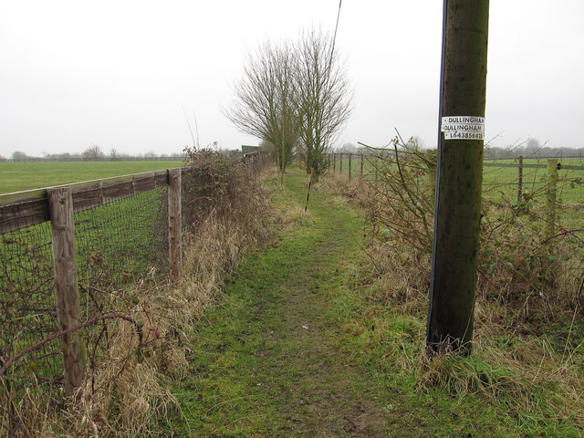 Footpath to Burrough Green