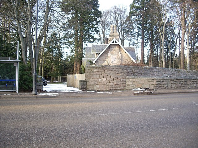 Lodge on Aboyne Castle estate