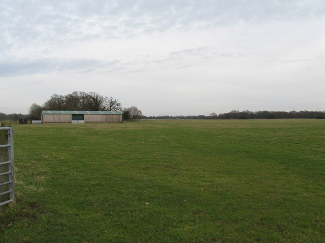 West across the Coolham ALG airfield