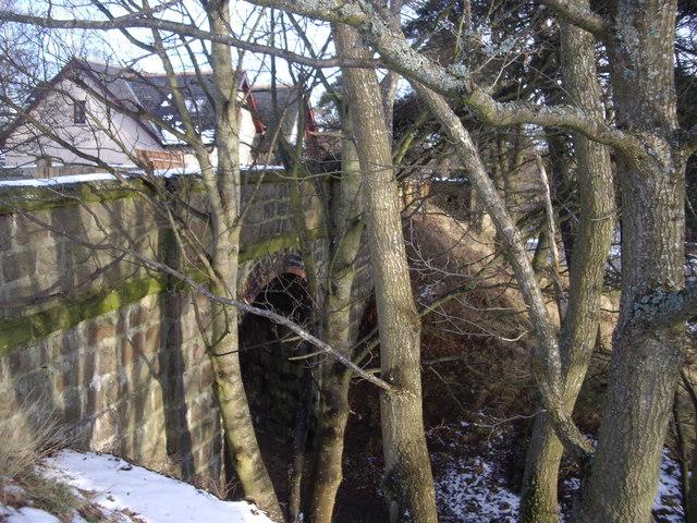 Rail arch in Aboyne