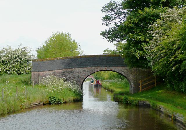 Martin's Bridge (No 3) near Hurleston Junction, Cheshire