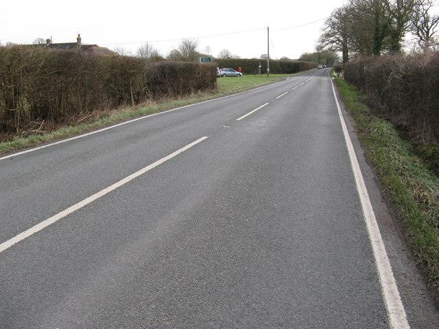 Crossroads on the B 2139