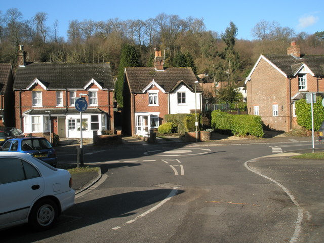 Looking from The Avenue into Lion Lane