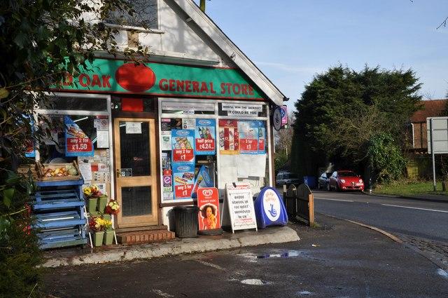 The Corner Shop on the Broad Oak Crossroads