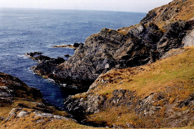 The Sound - Coastal scenery NW of  Visitor Centre